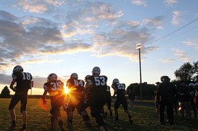 Taking the field on Friday Night