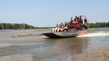 Airboating on the Platte