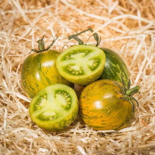 Tomates green zebra bio (les 500g)