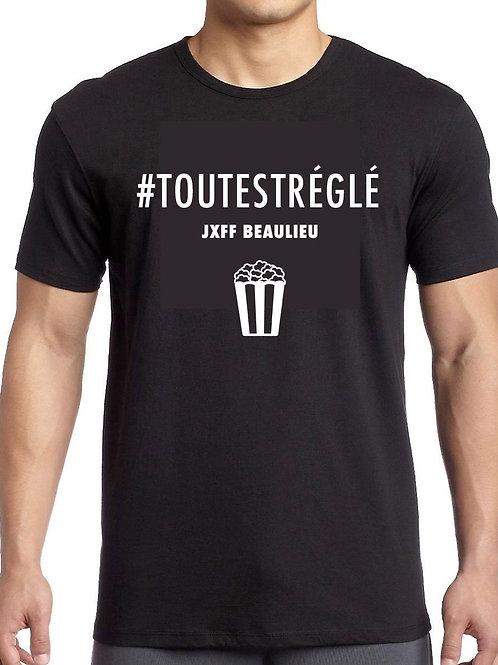 T-SHIRT UNISEX JEFF#TOUTESTREGLE