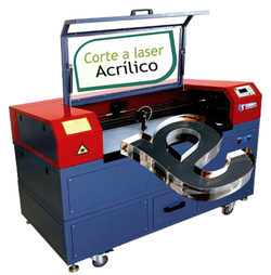 Corte a laser acrílico