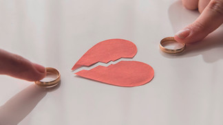 O divórcio no entardecer da vida