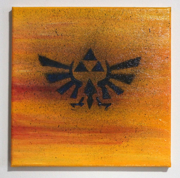 Triforce (yellow)