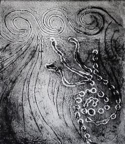 Squid B&W