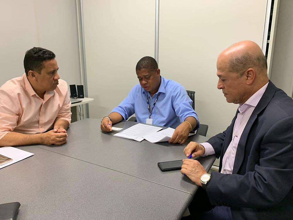 Em setembro de 2019, Joseildo e Luciano estiveram com o presidente da Conder para falar sobre a reforma do bairro