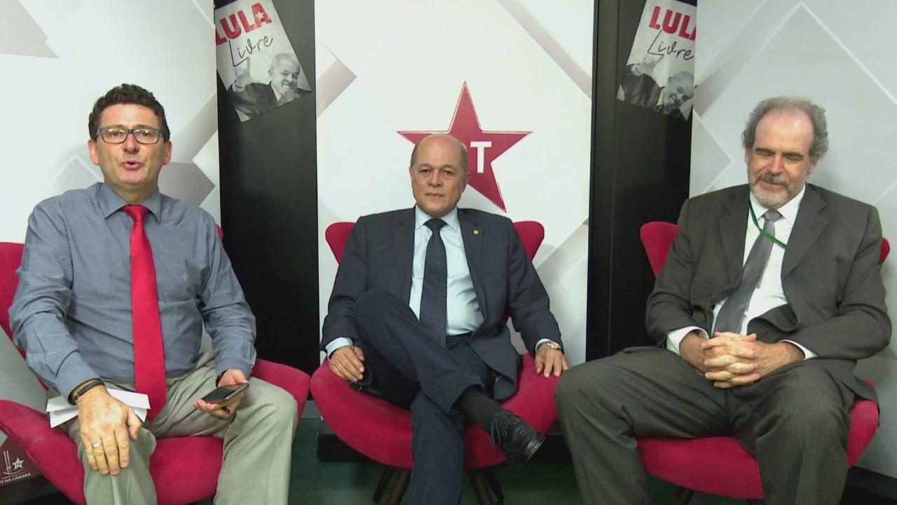 PONTO A PONTO com o deputado federal Joseildo Ramos (PT-BA)