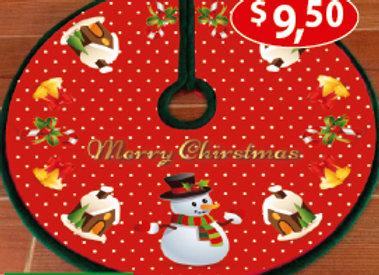 Adorno circular para arbol de navidad