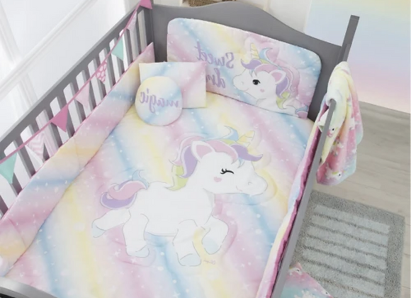 SET DE CUNA UNICORNIO