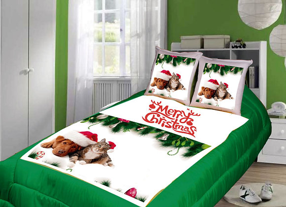 COBERTOR MERRY CHRISTMAS