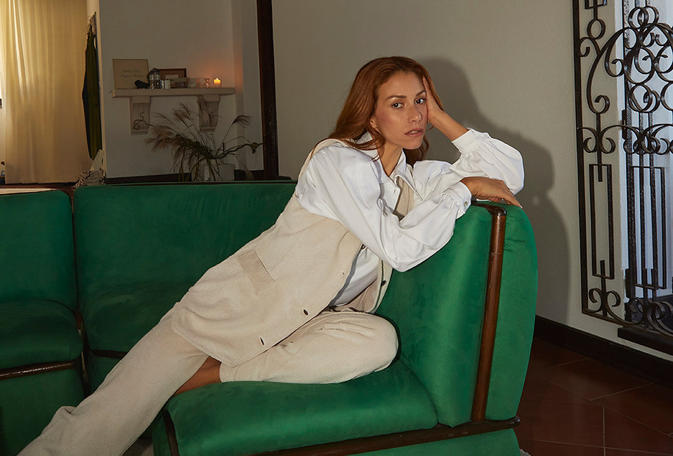Cindy Trousers | Ivory