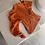 Thumbnail: ICONIC Cable Knit Sweater | Orange