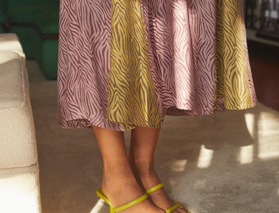 Creta Dress   Zebra Print