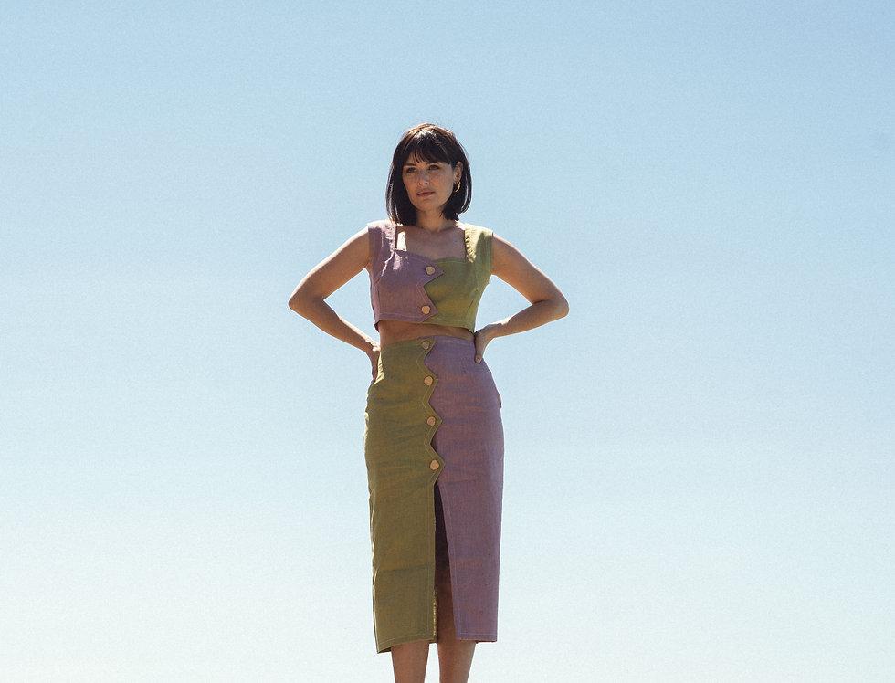 Croco Skirt