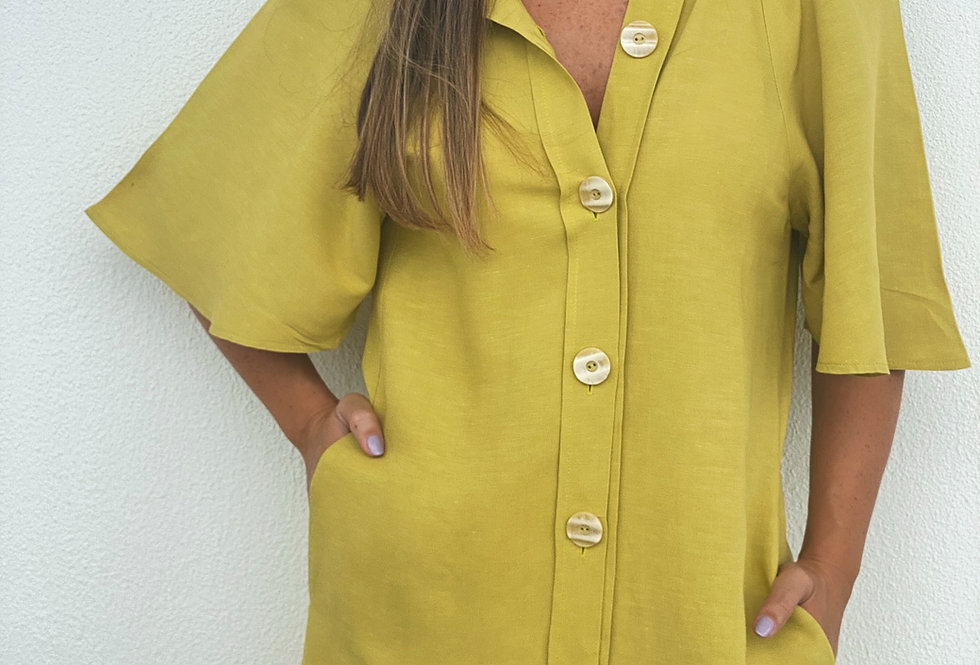MAAR CHEMISE made from Paraty Dress Leftovers