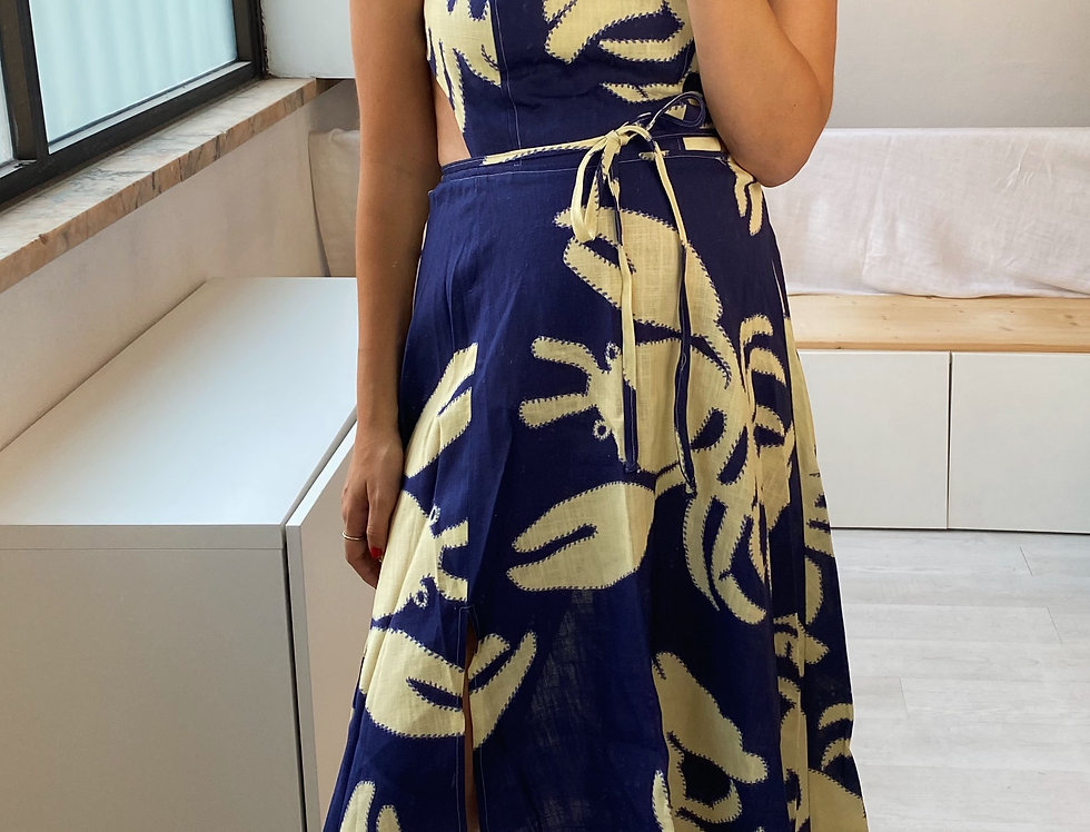 Mia Dress Made From our Lobster Pattern