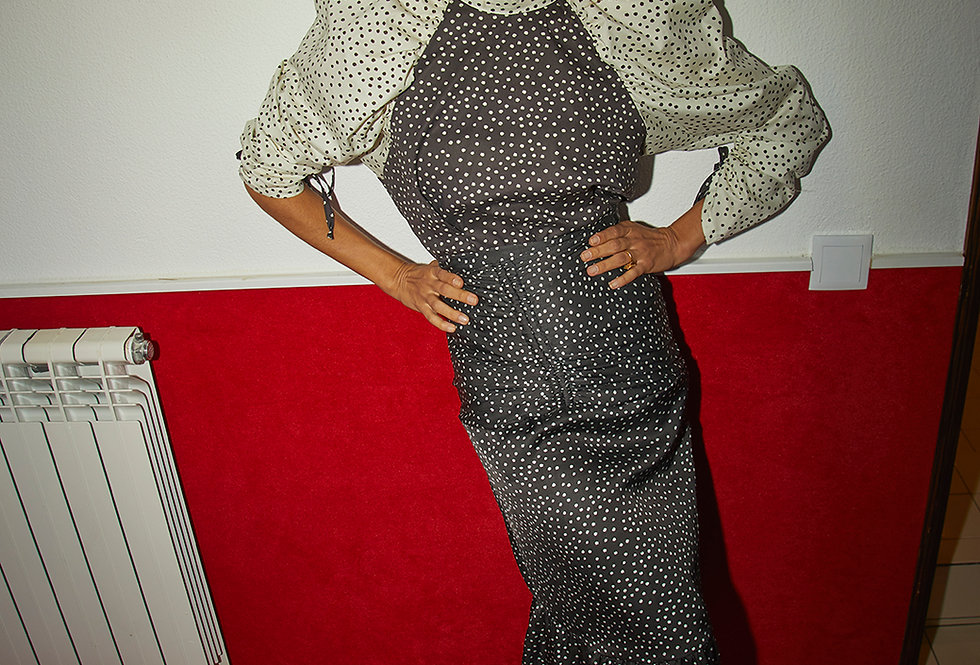 Demi Skirt | Small Dots