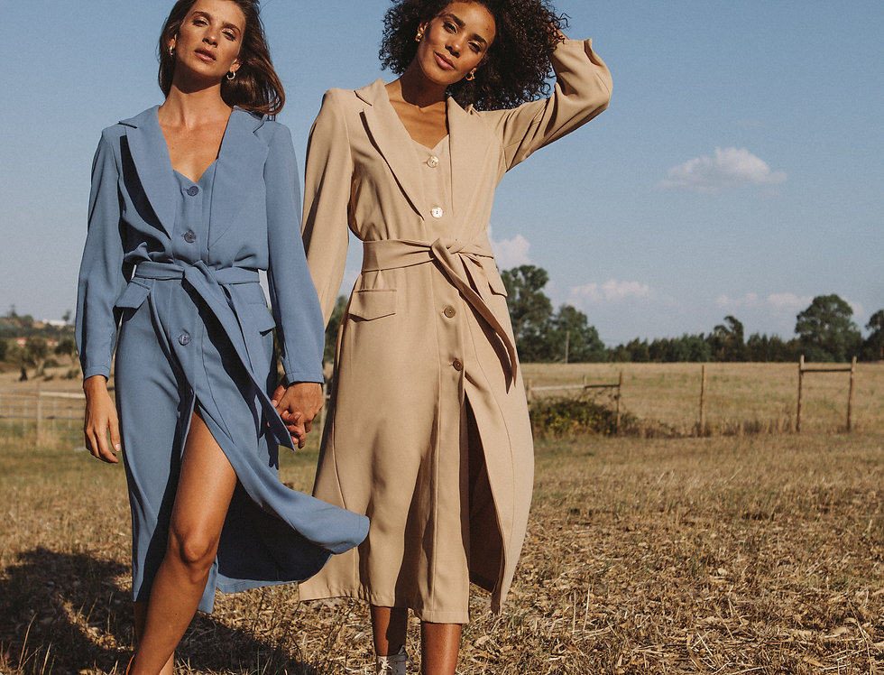 Sophie Trench Dress
