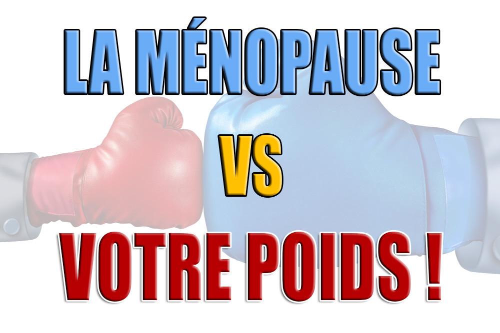 Ménopause perte de poids