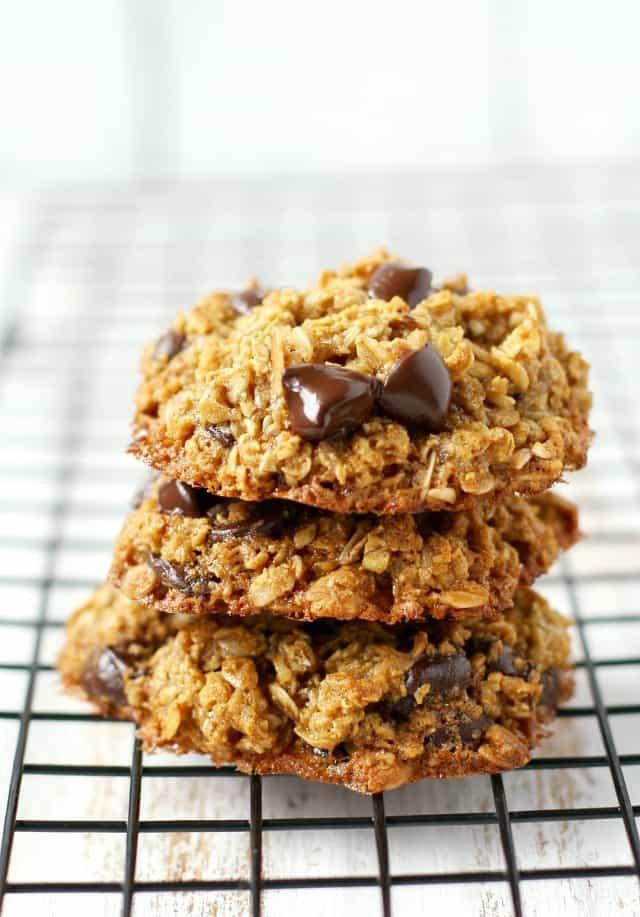 Biscuits Avoines et Chocolat Noir Santé