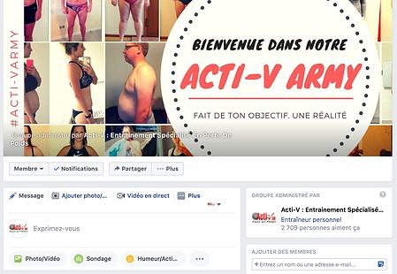 Acti-V Army, Facebook Acti-V
