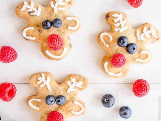Biscuits De Noël SANTÉ [Faible En Glucides]!