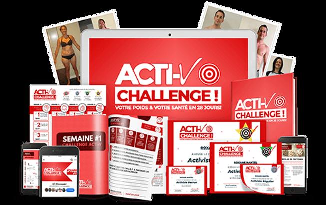 Challenge Acti-V Complet Transparent cop