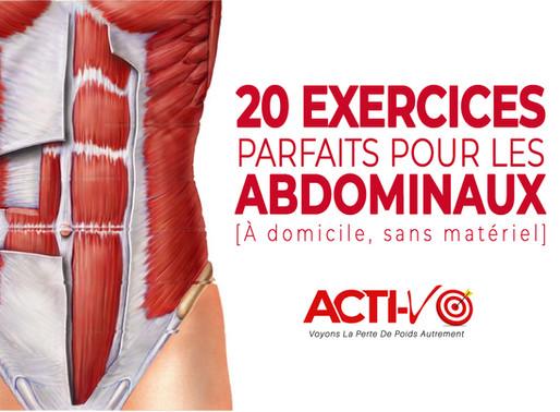 20 Meilleurs Exercices Abdominaux À Faire Chez Soi, Sans Matériel !