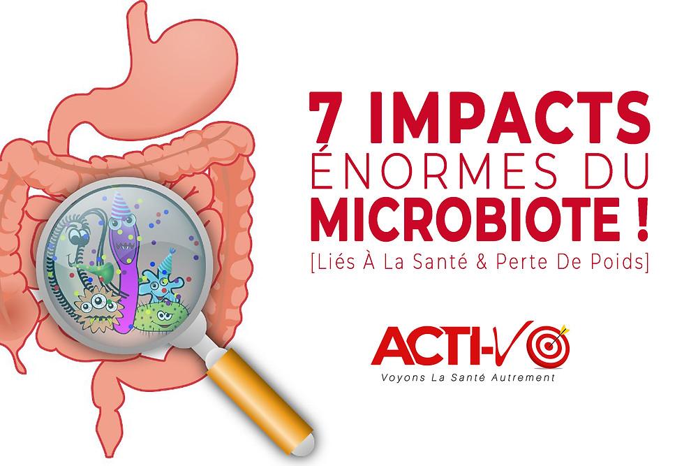 7 impacts du microbiote maigrir