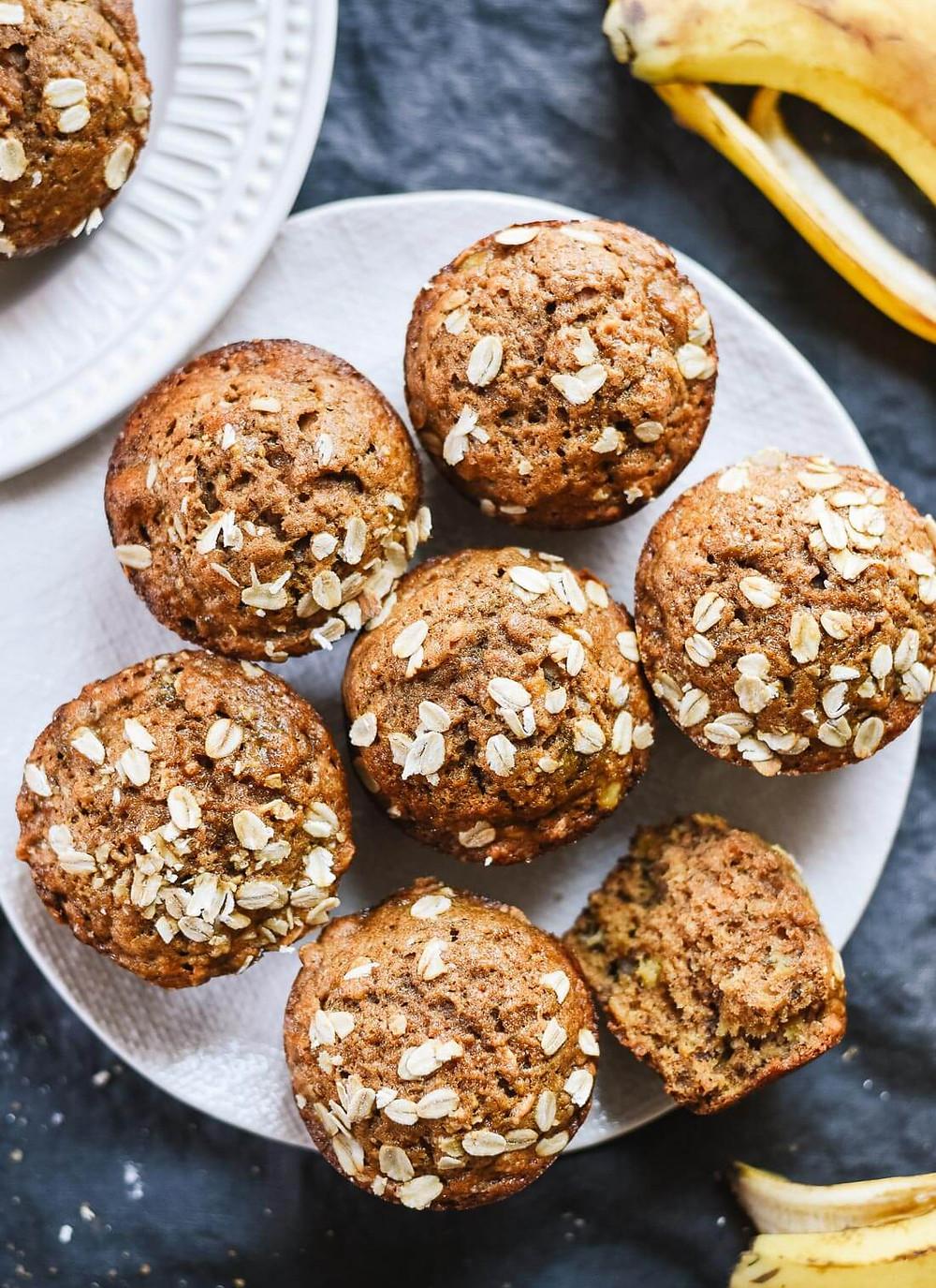 Muffins Bananes Santés Acti-V
