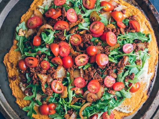 EXCLUSIF: Pizza En Croûte de Patate Douce (LA MEILLEURE!)
