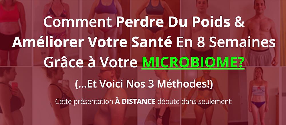 perdre du poids microbiome