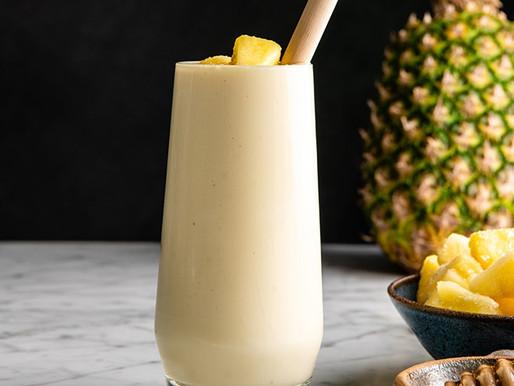 Smoothie Protéiné À L'ananas!