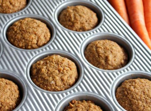 Muffins Santé Aux Carottes [Simple & Rapide]!