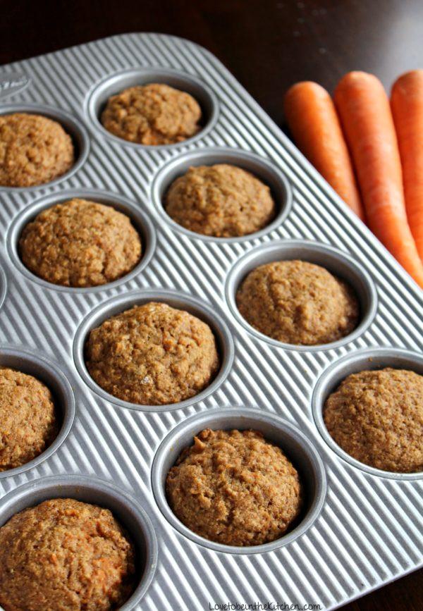 Muffin Santé Bleuets et Yogourt