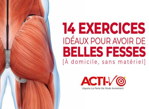14 Exercices Fessiers Efficaces Pour Femme [Sans Matériel]