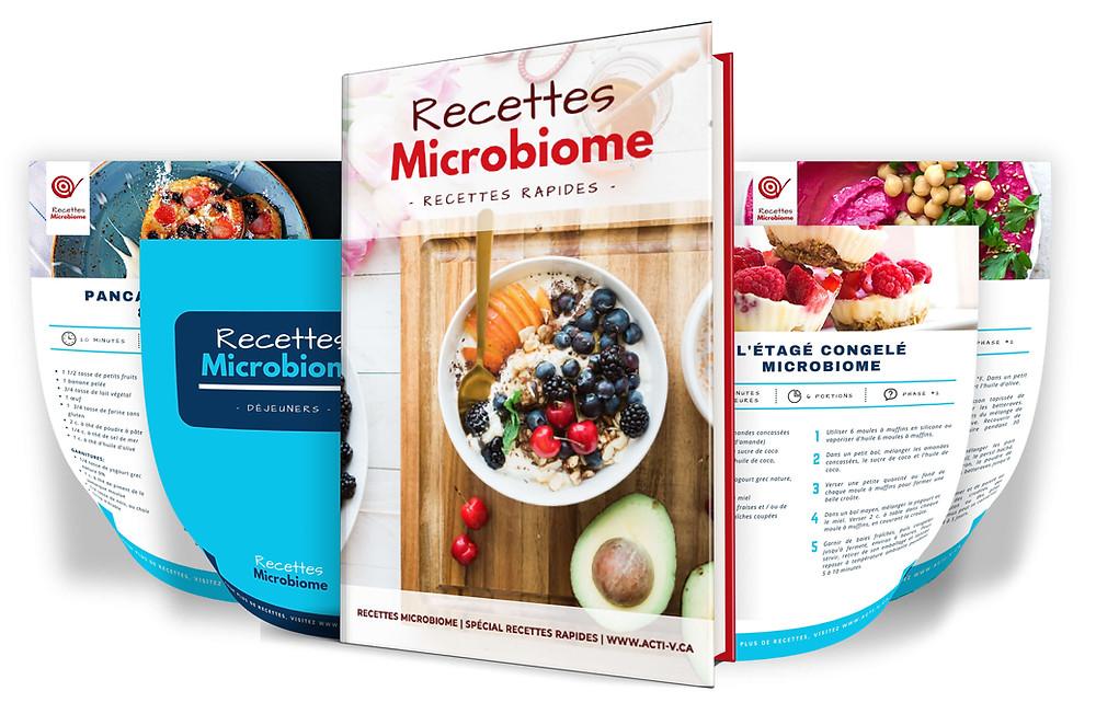recettes rapides microbiome