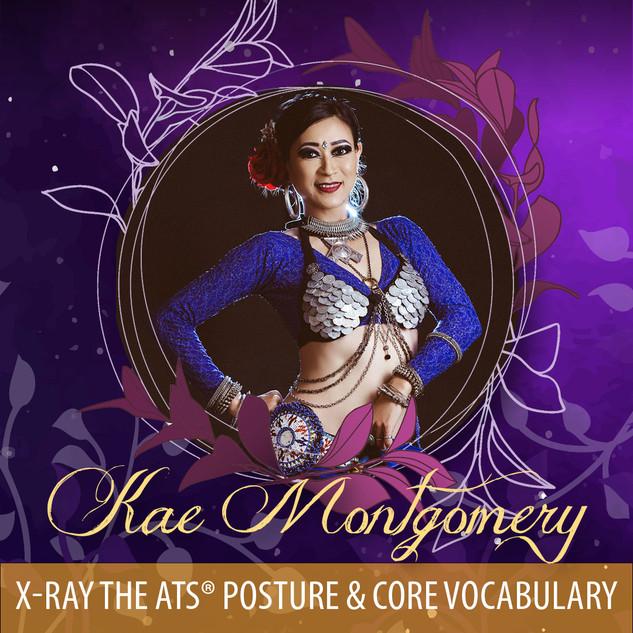 Kae Montgomery - X-Ray the ATS® Posture & Core Vocabulary AUD90