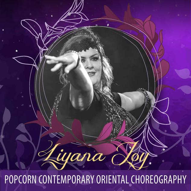 Liyana Popcorn - Popcorn Contemporary Oriental Choreography AUD45