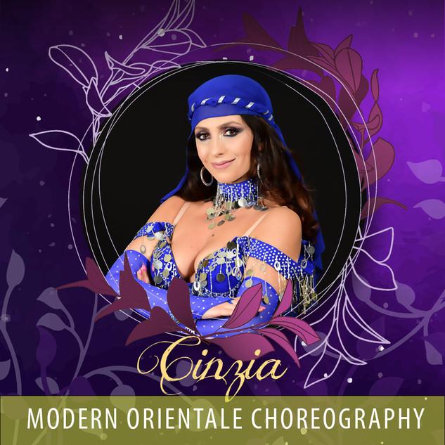 Cinzia - Modern Orientale Choreography AUD90