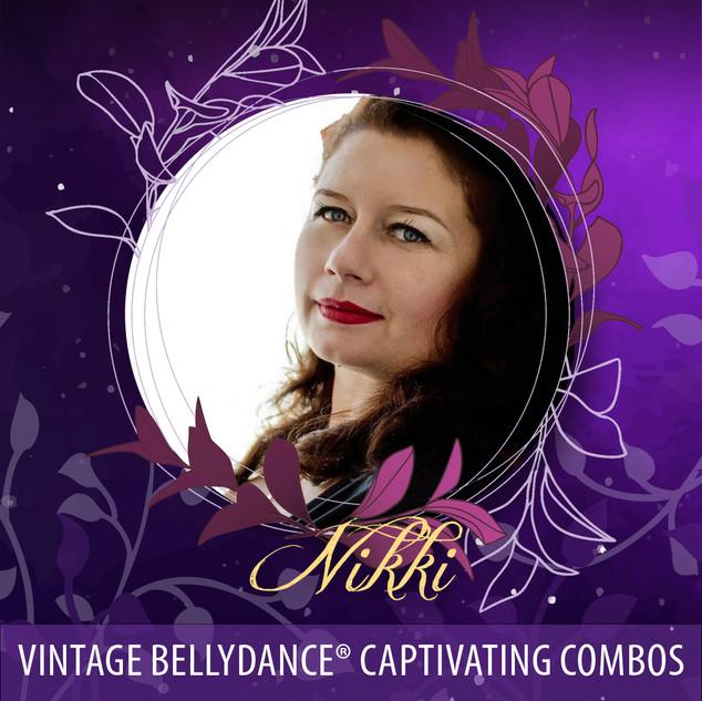 Nikki - Vintage Bellydance - Captivating Combos AUD45