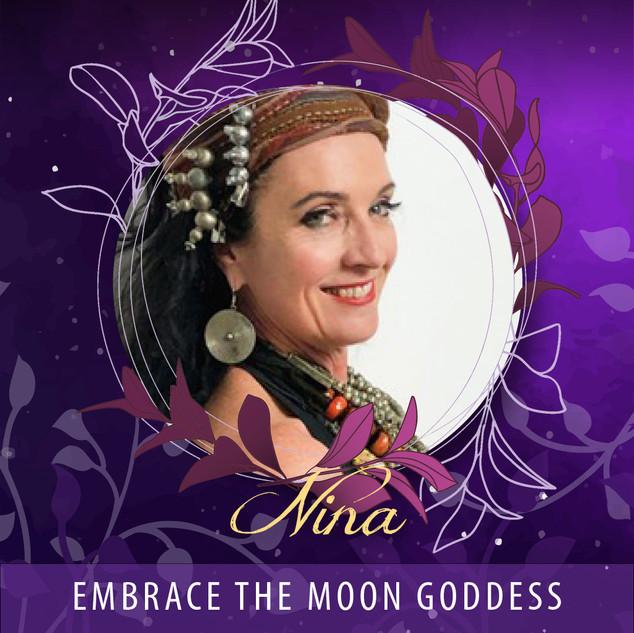 Nina - Embrace the Moon Goddess AUD45
