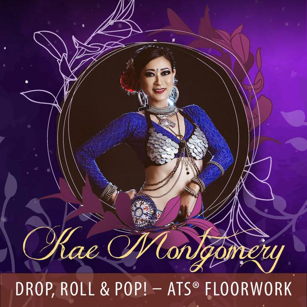 Kae Montgomery -Drop, Roll, Pop! ATS® FloorWork - AUD90
