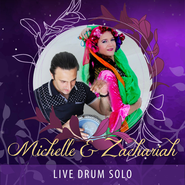Michelle and Zachariah - Live Drum Solo AUD65