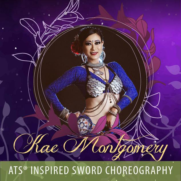 Kae Montgomery - ATS® Inspired Sword Choreography - AUD90