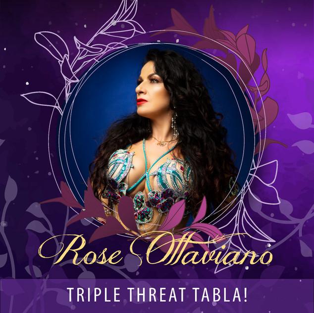 Rose Ottaviano - Triple Threat Tabla! AUD45