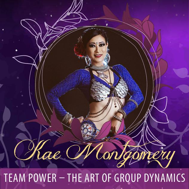 Kae Montgomery - The Art of Group Dynamics AUD90