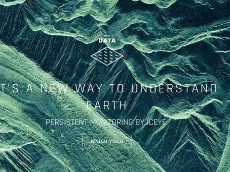 ICEYE introducing a completely new way to understand life on Earth.