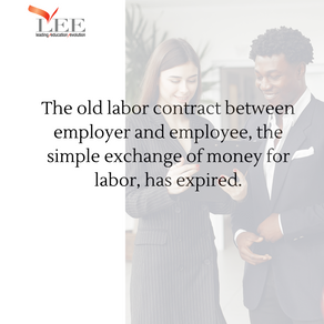 Work is more than an exchange for money