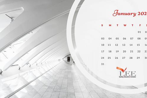 Calendar 2021 - Architecture