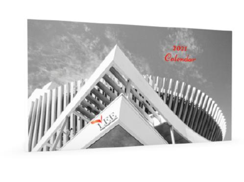 2021 Calendar - Architecture